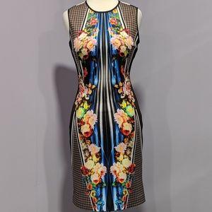 Clover Canyon multicolor print scuba dress
